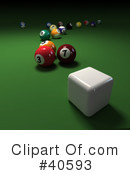 Billiards Clipart #40593 by Frank Boston