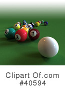 Billiards Clipart #40594 by Frank Boston