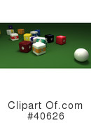 Billiards Clipart #40626 by Frank Boston
