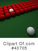 Billiards Clipart #40705 by Frank Boston