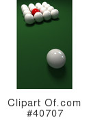 Billiards Clipart #40707 by Frank Boston