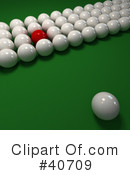 Billiards Clipart #40709 by Frank Boston
