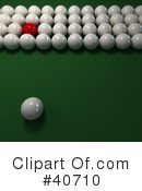 Billiards Clipart #40710 by Frank Boston