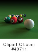 Billiards Clipart #40711 by Frank Boston