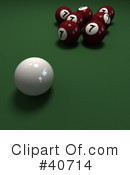 Billiards Clipart #40714 by Frank Boston