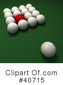 Billiards Clipart #40715 by Frank Boston
