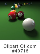 Billiards Clipart #40716 by Frank Boston