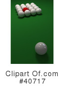 Billiards Clipart #40717 by Frank Boston