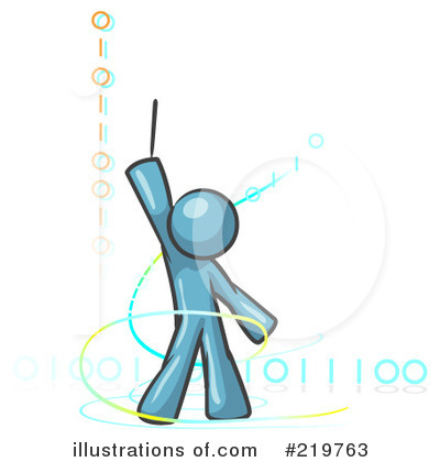 Binary Code Clipart #219763 by Leo Blanchette