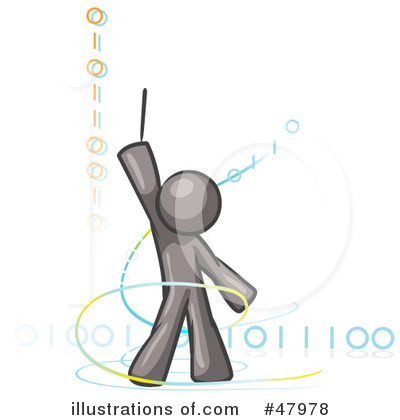 Binary Code Clipart #47978 by Leo Blanchette