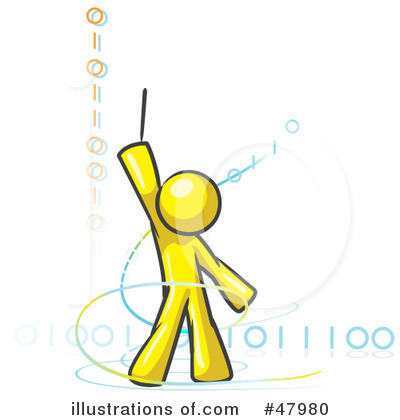 Binary Code Clipart #47980 by Leo Blanchette