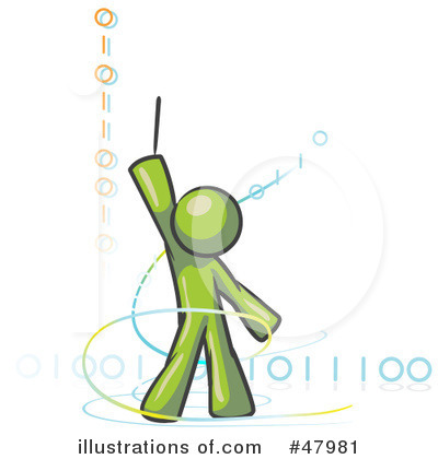Binary Code Clipart #47981 by Leo Blanchette