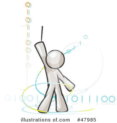 Binary Code Clipart #47985 by Leo Blanchette