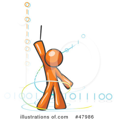 Binary Code Clipart #47986 by Leo Blanchette