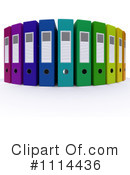 Binders Clipart #1114436 by KJ Pargeter