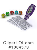 Royalty-Free (RF) Bingo Clipart Illustration #1084573