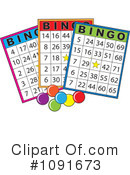 Royalty-Free (RF) bingo Clipart Illustration #1091673