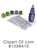 Royalty-Free (RF) Bingo Clipart Illustration #1098415