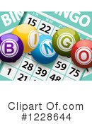 Royalty-Free (RF) Bingo Clipart Illustration #1228644