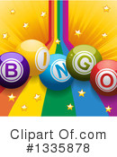 Royalty-Free (RF) Bingo Clipart Illustration #1335878