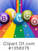 Royalty-Free (RF) Bingo Clipart Illustration #1358376