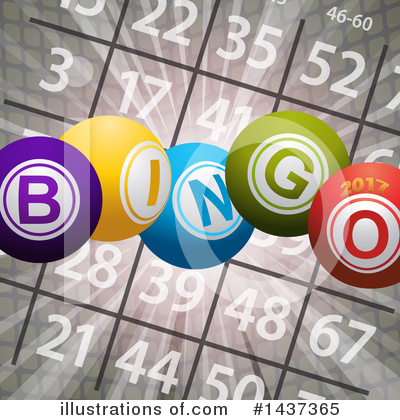 Royalty-Free (RF) Bingo Clipart Illustration by elaineitalia - Stock Sample #1437365