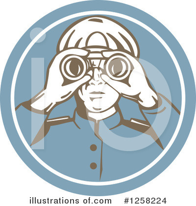 Fisherman Clipart #1258224 by patrimonio