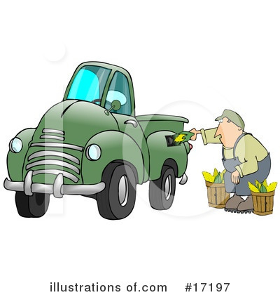 Pickup Clipart #17197 by djart