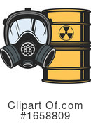 Biohazard Clipart #1658809 by Vector Tradition SM
