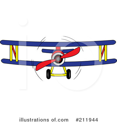 Biplane Clipart #211944 by Pams Clipart