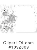 Bird Cage Clipart #1092809 by BNP Design Studio