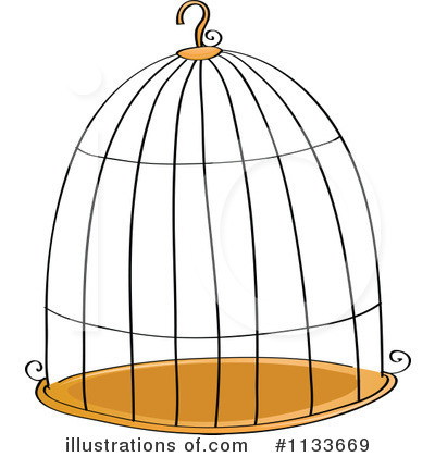 Royalty-Free (RF) Bird Cage Clipart Illustration by colematt - Stock ...: www.illustrationsof.com/1133669-royalty-free-bird-cage-clipart...