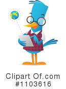 Bird Clipart #1103616 by Qiun