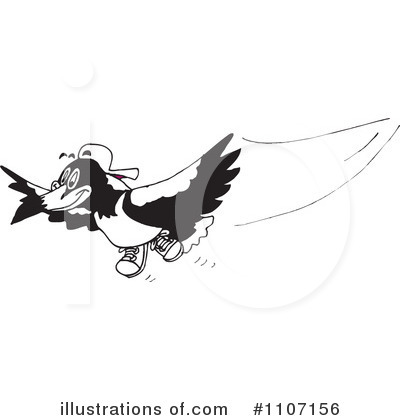 Royalty-Free (RF) Bird Clipart Illustration by Dennis Holmes Designs - Stock Sample #1107156