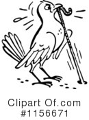Royalty-Free (RF) Bird Clipart Illustration #1156671