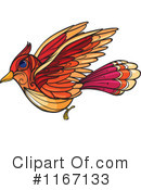Royalty-Free (RF) Bird Clipart Illustration #1167133