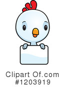 Royalty-Free (RF) Bird Clipart Illustration #1203919