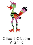 Royalty-Free (RF) Bird Clipart Illustration #12110