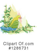 Royalty-Free (RF) Bird Clipart Illustration #1286731