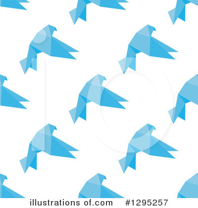 Blue Bird Clipart #1295257 by Vector Tradition SM