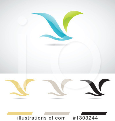 Wing Logo Clipart #1303244 by cidepix