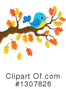 Bird Clipart #1307826 by visekart