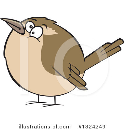 Bird Clipart #1324249 by toonaday