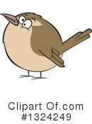 Royalty-Free (RF) Bird Clipart Illustration #1324249