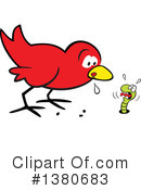 Royalty-Free (RF) Bird Clipart Illustration #1380683