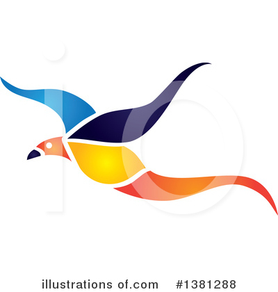 Bird Clipart #1381288 by ColorMagic