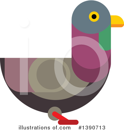 Bird Clipart #1390713 by Vector Tradition SM