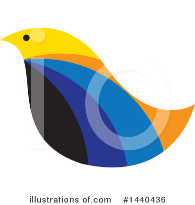 Bird Clipart #1440436 by ColorMagic