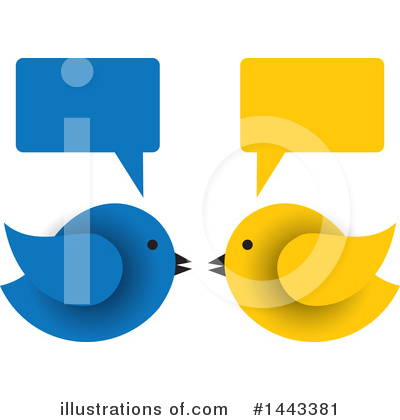 Bird Clipart #1443381 by ColorMagic