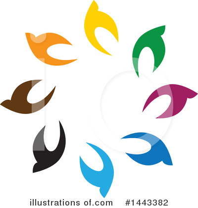 Royalty-Free (RF) Bird Clipart Illustration by ColorMagic - Stock Sample #1443382
